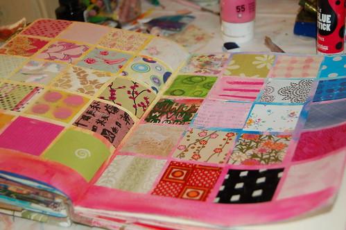 Paper sampler grid