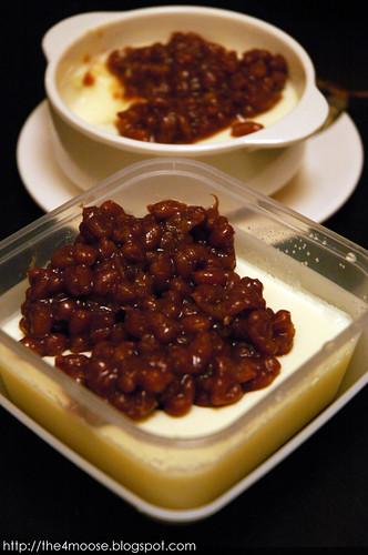 Dessert Bowl - Milk Custard with Red Bean