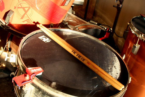 snare drum with trigger