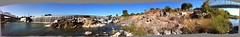 Llano panorama 2 (thatmaceguy) Tags: fall rock utd texas fault granite syncline geology fredericksburg quartz dike enchanted feldspar kingsland enchantedrock 2010 llano schist intrusion gneiss geoscience sandston llanouplift valleyspringgneiss townmountaingranite packsaddleschist glaucanite lionmountainsandstone