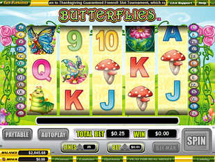 Butterflies slot game online review