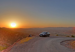 Middle Atlas sunset (Neil67) Tags: africa mountains morocco maroc toyota atlas middle hdr corolla afrique