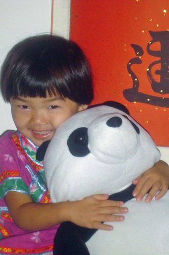 Andreina and Panda