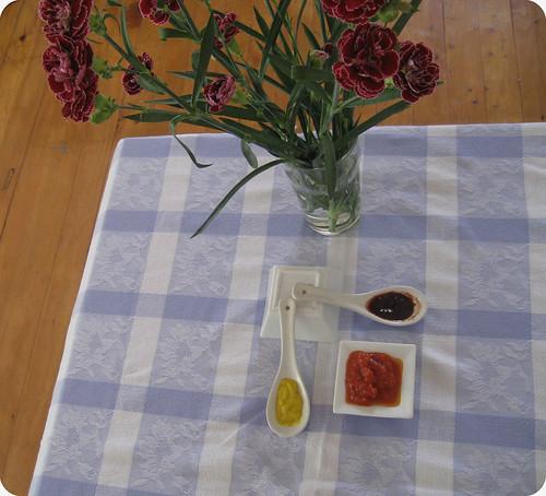 Claveles y salsas