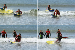 It's all about balance (SteveFE) Tags: school ireland surf wipeout lesson lahinch beginner countyclare tamronadaptall2sp35210mmf3542