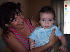 grandma holding baby aidan (|nG) Tags: grandma baby cute face holding child aidan lee