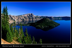 Crater Lake Morning Light (jimgoldstein) Tags: film oregon landscape photo fuji searchthebest slide velvia fv10 wizardisland craterlakenationalpark naturesfinest jmggalleries anawesomeshot jimmgoldstein ishflickr