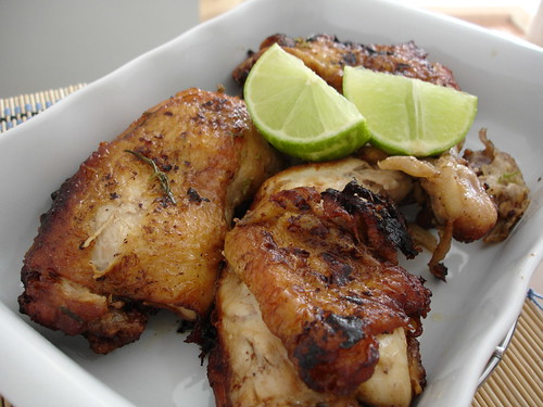 Chicken with rosemary and lime