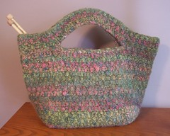 Felted Cache Bag - Front view