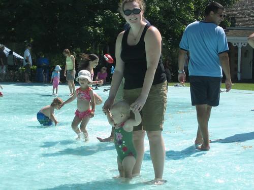 Going for a splash