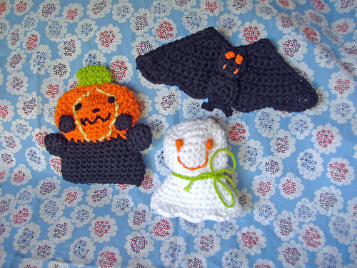 Halloween Crochet Scrubbers