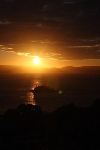 Sunset over the Whitsundays