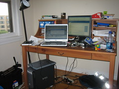 Nick's desk