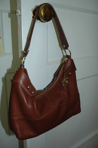 Luscious new leather handbag!
