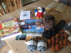 Knitter's Virtual Vacation Swap Package