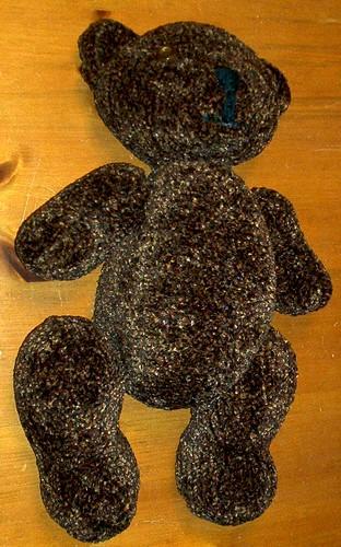 Teddy Bear Laying Down