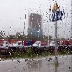 One of these Days (8#X) Tags: urban window rain train germany munich münchen geotagged bayern deutschland bavaria europa europe monaco raindrops sbahn nohdr bergamlaim lx2 8x lumixlx2 geo:lat=4813401 geo:lon=11632842
