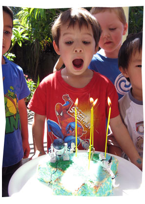 Sean Turns 4