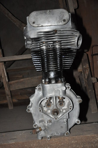 Mesin Ajs/Matchless 500cc thn 52