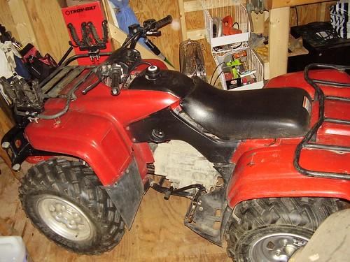 Honda 350 Rancher 4x4. red 01 350 rancher 4x4: EPI