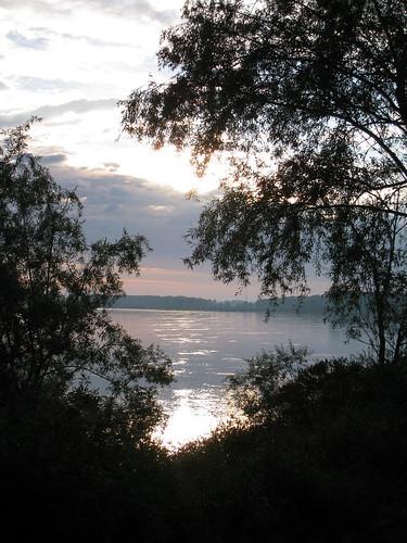 Po river near Zibello