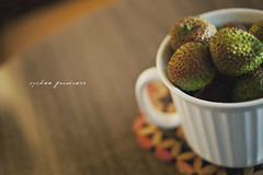 [40/365] Lychee goodness [Explored] (ng.kelven) Tags: summer food sun green vancouver zeiss canon 50mm sweet bokeh mark seeds ii 5d f2 365 makro ze lychee carls planar