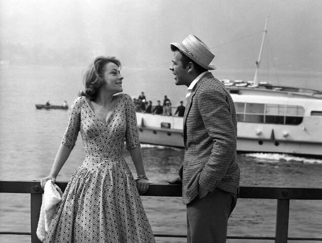 Annie Girardot and Ren...