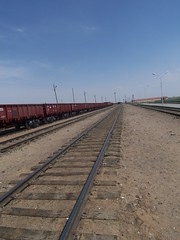 Rail to China