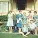 Pamela's 21st: Shirely, Bernard, Pamela, Ivy, Barry, Raewyn, Stewart, Thelma