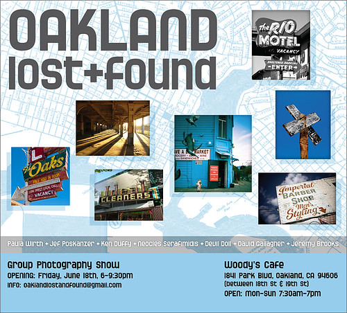 OAKLAND lost+found Photo Show