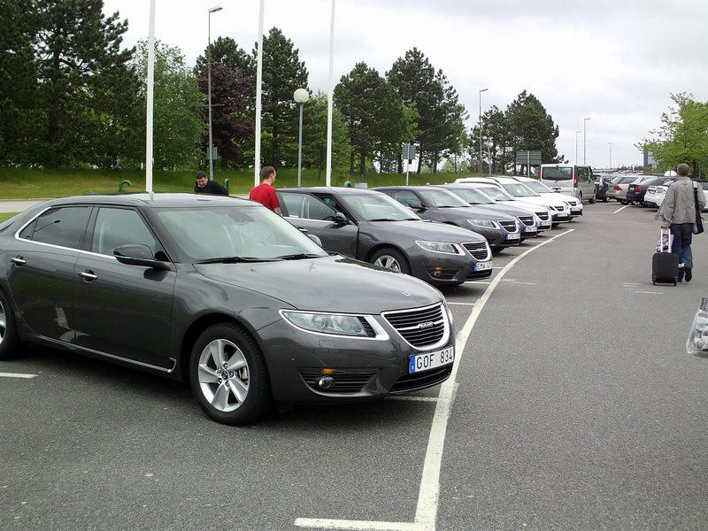 New Saab 9-5 Test drive