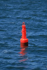 Oh what a Lonely Buoy. (Bakis is Back) Tags: sea denmark ship northsea esbjerg danmark jutland jylland buoyant