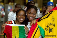 Ghana (Popeyee) Tags: world africa cup sports fan photo football photographer photos fifa soccer south ghana fans futebol 2010 sudafrica