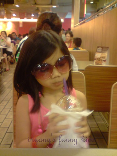 mikee in sunglasses