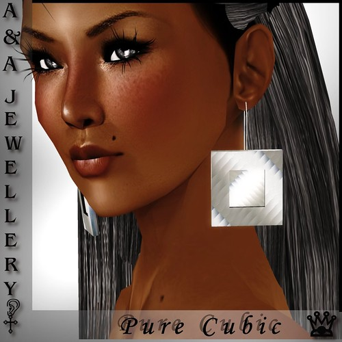 A&Ana Earrings Pure Cubic