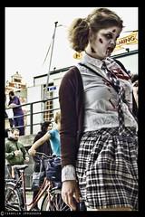DSC_0236 (isabella.jorgensen) Tags: photoshop costume blood makeup horror prop larp topaz justforfun theather stockholmzombiewalk2010