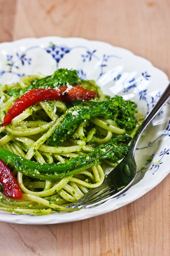 broccoli rabe pasta 2