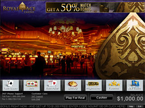 Royal Ace Casino Lobby