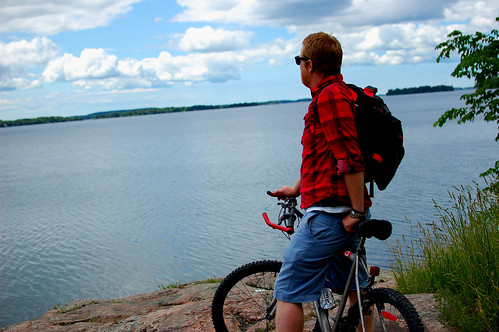 biking the thousand islands