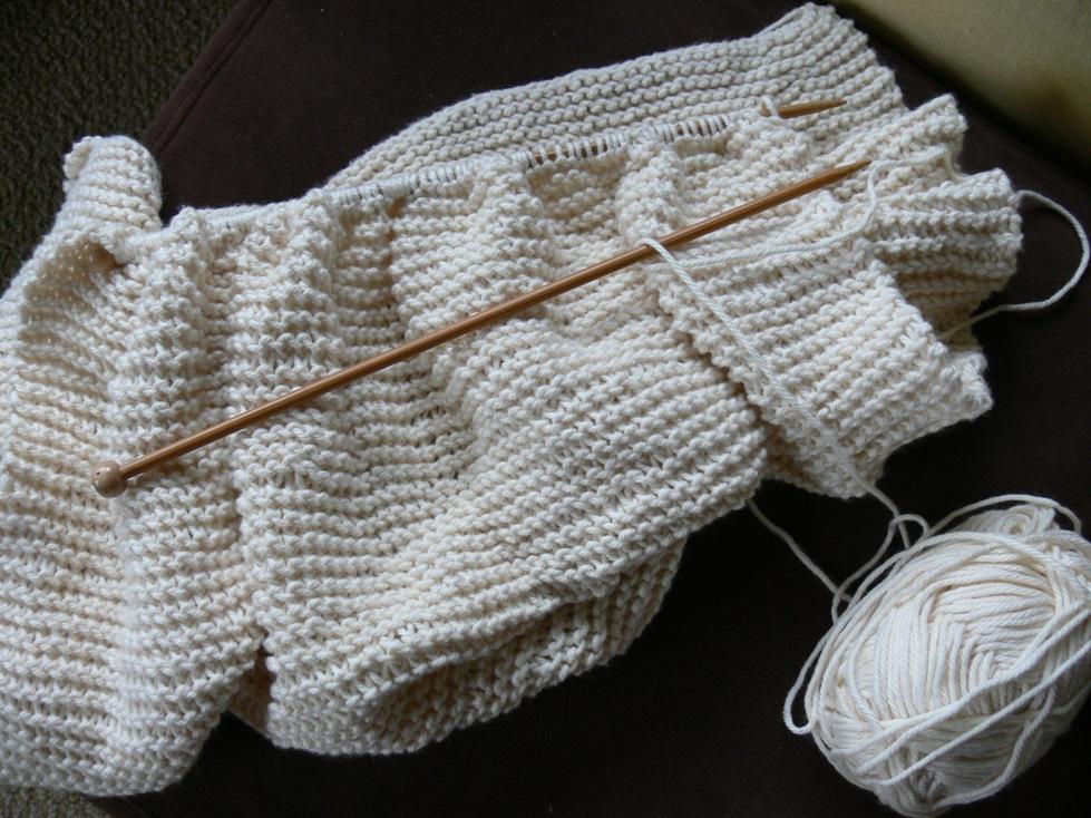 Jenny: Frantic Knitting