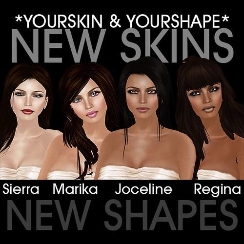 New Skins @ YS&YS