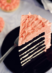 Ruffled Slice (Sweetapolita) Tags: cake chocolate swiss explore slice layer ruffle buttercream ruffled