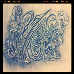 276 Pencil Sketch.. (Marius Mellebye / 276ccm) Tags: pencil sketch rosemaling mccannstyle idea mariusmellebye 276ccm