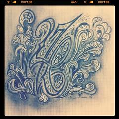 276 Pencil Sketch.. (Marius Mellebye / 276ccm) Tags: pencil sketch rosemaling mccannstyle idea mariusmellebye 276ccm