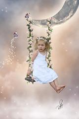 (mylaphotography) Tags: sky moon art butterfly stars digitalart manipulation fantasy rahi childphotography jaber flowercrown faitytale superhearts mylaphotography michiganstudiophotography fairytalephotography