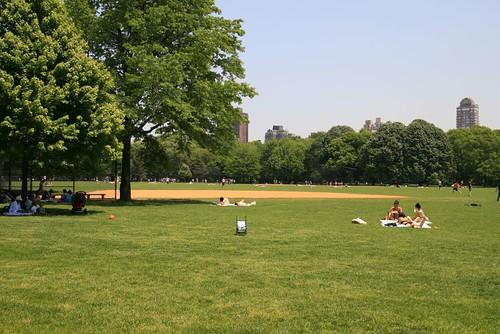 Abandon de poussette dans Central Park