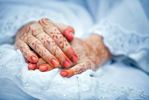 Henna On The Wedding Day