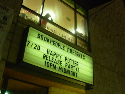 harry potter release party!