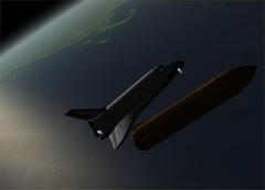 STS-118 Orbiter Specular Ripple (Hi-res)