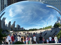 100_2830 (kthypryn) Tags: trip vacation chicago art awesome milleniumpark cloudgate fascinating silverpill